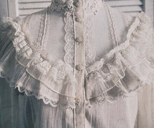 blouse, lace, and white image