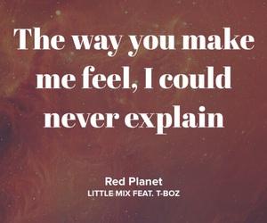 grunge, Lyrics, and red planet image