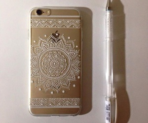 case, girly, and gold image