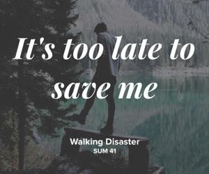 sum 41, walking disaster, and musixmatch image