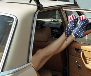 shoes, usa, and car image