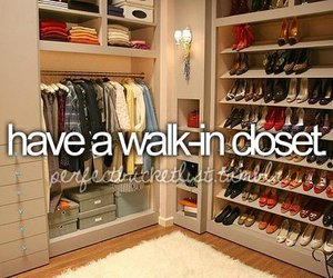closet, shoes, and clothes image