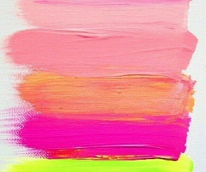 paint, pink, and colors image