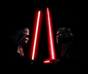 dark side, DarthVader, and anakinskywalker image
