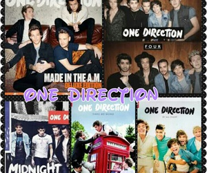four, up all night, and one direction image