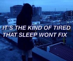 tired, grunge, and sad image