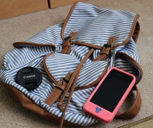 iphone, case, and backpack image