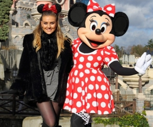 little mix, perrie edwards, and disneyland image