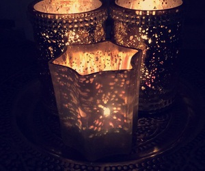 autumn, candles, and decor image