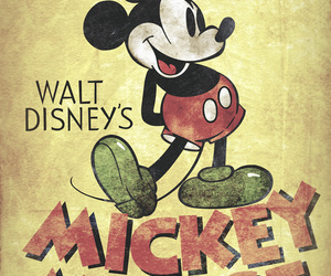 disney, mickey mouse, and vintage image