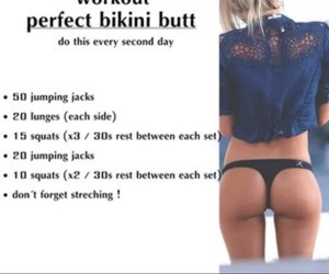 fitness, butt workouts, and workouts image