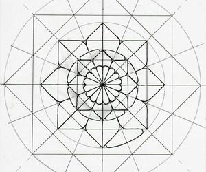 arte, dibujos, and mandalas image