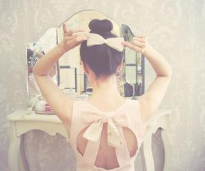 ballerina, ballet, and bow image