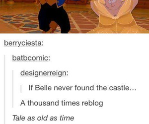beauty and the beast, disney, and funny image