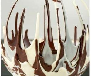 chocolate, diy, and bowl image