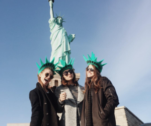 best friends, friendship, and new york image