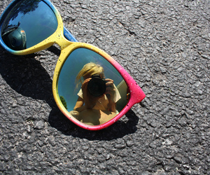 colors and sunglasses image