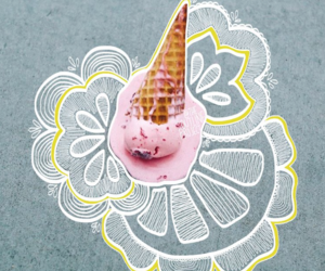 beautiful, food, and doodle image