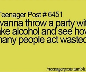 alcohol, fake, and teenager post image