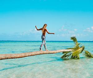 fashion, Island, and girl image