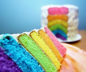 cake, color, and cupcake image