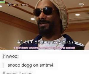 funny, kpop, and snoop dogg image