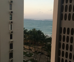 beach, city, and puerto rico image