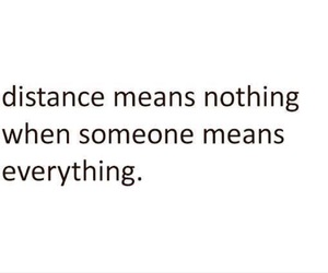 distance, love, and everything image