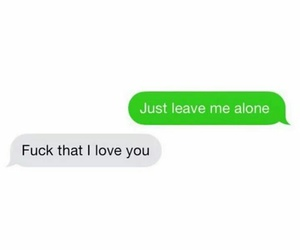 love, couple, and text image