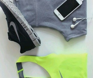 nike, workout, and fitness image