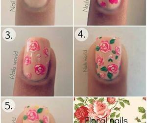 nail, nailart, and nail art image