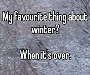 winter, snow, and quotes image