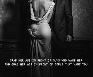 black & white, classy, and couple image