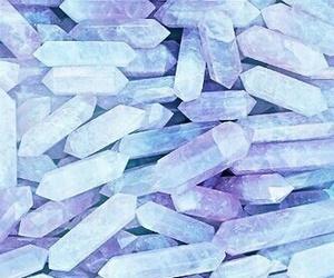 crystal, pink, and wallpaper image