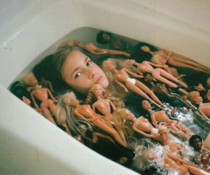 barbie, bath, and doll image