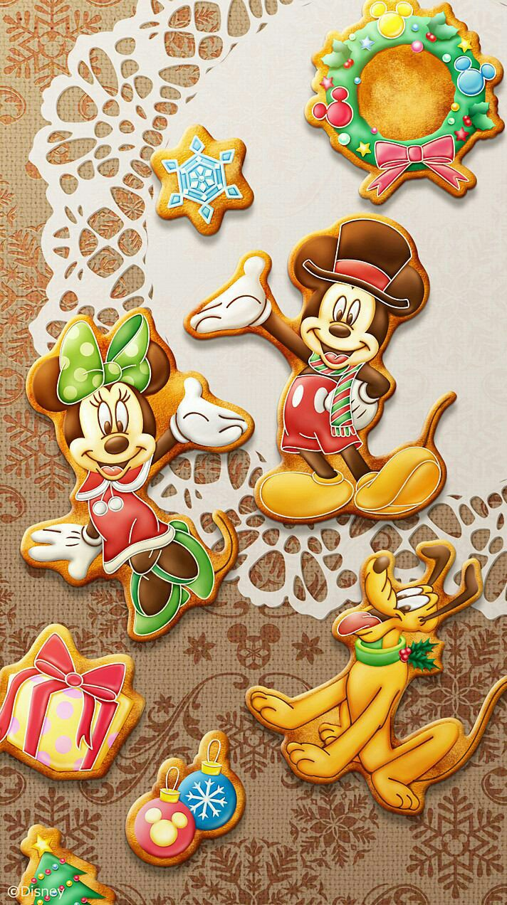 Minnie Mickey And Pluto Wallpaper On We Heart It