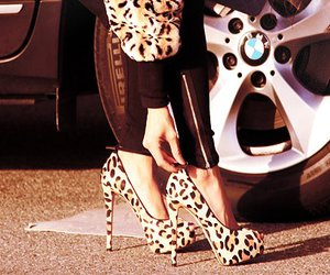 shoes, heels, and bmw image