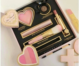makeup, too faced, and pink image