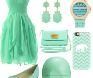 fashion, look, and mint image