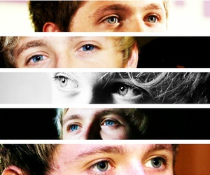 niall horan, eyes, and one direction image