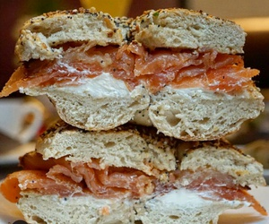 bagel and lox image