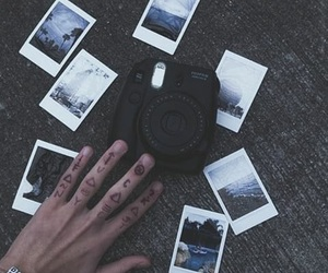 polaroid, grunge, and photo image