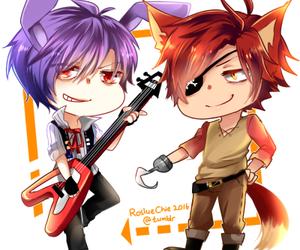 Bonnie, foxy, and fnaf image