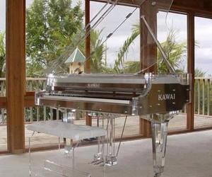 piano, music, and kawai image