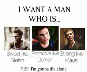 klaus, damon, and stefan image