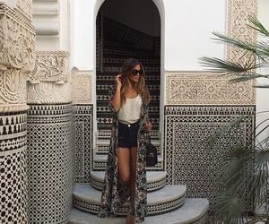 dress, sunglasses, and clotes image