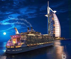 Dubai, travel, and burj al arab image