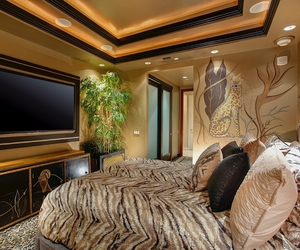 bedroom, decor, and dream home image