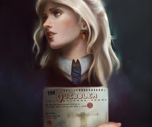 harry potter, hp, and luna lovegood image