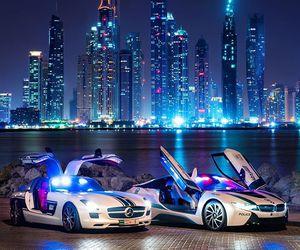 Dubai, bmw, and mercedes image